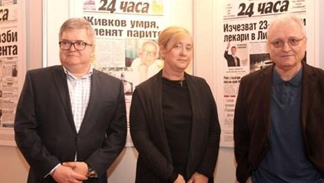 Венелина Гочева и Валери Найденов: Бъдеще имат качествените медии