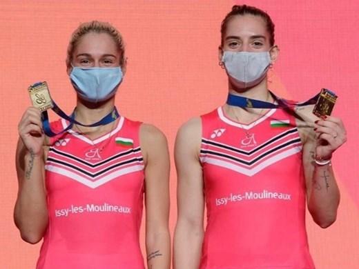 Три наши на олимпиада в бадминтона