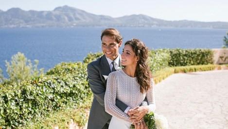 Снимки от сватбата на Рафа Надал