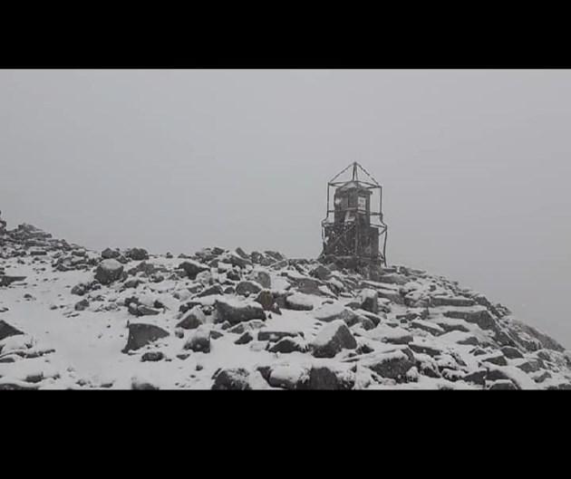 Сняг на Мусала през юли (Снимки)