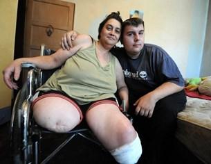 Даниела Стаменова, жената с ампутирани крака:  Искам работа, не подаяния