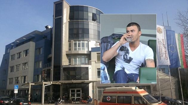 Стайков-син приет в болница в тежко състояние
