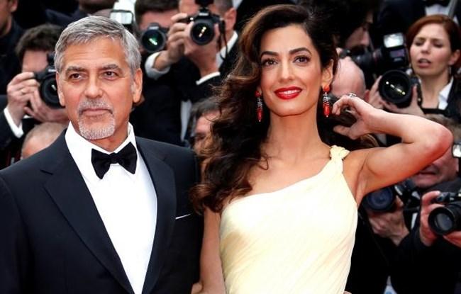 Джордж и Амал Клуни Снимка: Ройтерс (Архив)