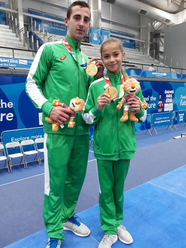 Българи със злато в акробатиката на младежката олимпиада в Буенос Айрес