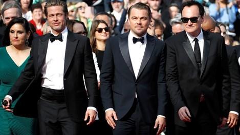 Тарантино, Брад Пит и ди Каприо предизвикаха фурор в Кан (снимки)