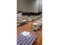 Трансформираха Двореца на културата във Варна в полева болница (Снимки)