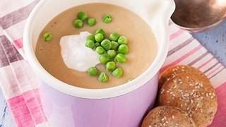 Извънредно вкусна супа от целина и грах