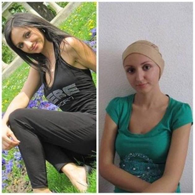 Красивата Наталия бори левкемията