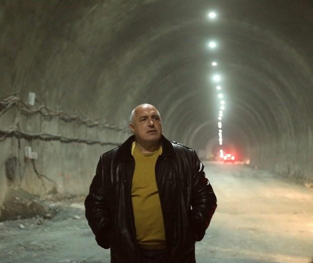"Борисов: Пускаме тунел ""Железница"" през септември (Видео)"