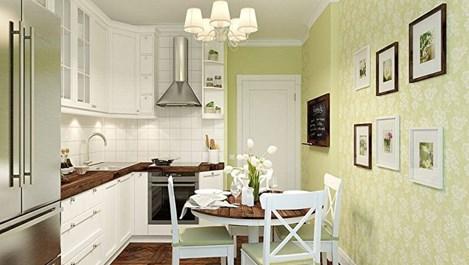 Идеи за кухня в миниатюрно пространство (галерия)