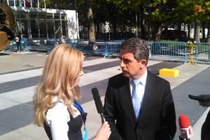 Първата среща на Деси Банова и Росен Плевнелиев е в Ню Йорк по време на световен форум на ООН.