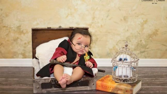 Невероятни снимки на бебета, които обичат Хари Потър