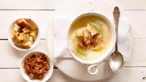 Лучена крем-супа със сметана