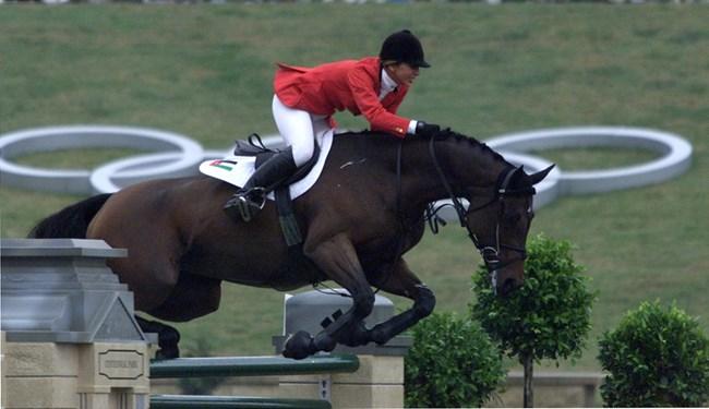 Принцесата е една от най-добрите ездачки в света.