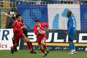 """31 октомври 2003 г. Бадема се е разписал за ЦСКА срещу """"Левски"""" на """"Герена"""" при равенството 1:1."""
