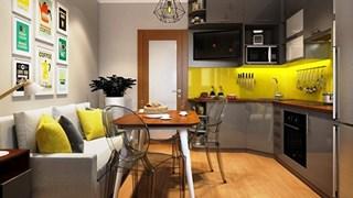 Идеи за миниатюрна кухня (галерия)