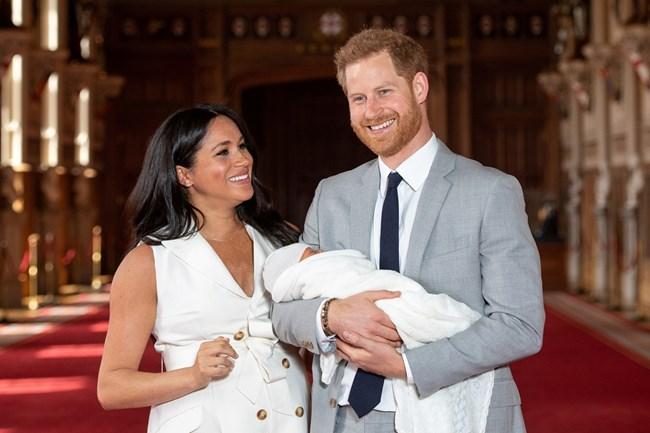 Съпрузите след раждането на сина им Арчи