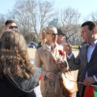 Ива Екимова на среща с депутат