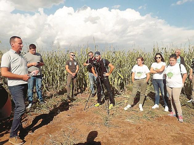 """Фирма """"Амитица"""" организира срещи с фермери от различни райони на страната Снимки: """"Амитица"""""""
