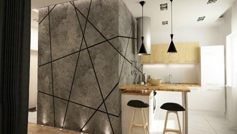Модерен стил в 40 кв. м (галерия)