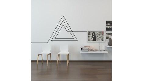 Идеи за декоративни ленти в интериора (галерия)