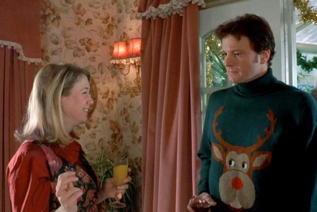 """Празникът няма да е същият нез абсурдните коледни пуловери на Марк Дарси в """"Дневникът на Бриджит Джоунс""""."""