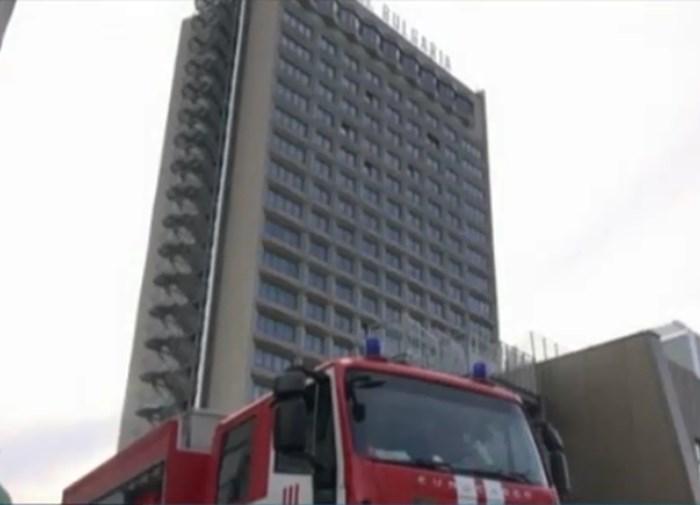 Хотелът с електрическа авария Кадър: БНТ