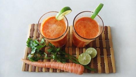 Противовъзпалителен сок от моркови с канела