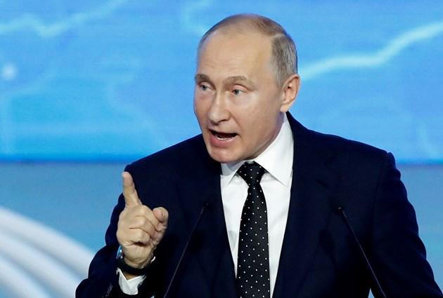 """Путин: """"Газпром"""" е заинтересован от дългосрочни договори с ЕС"""