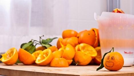 Яжте плодовете небелени