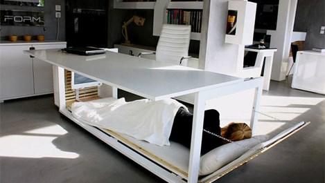 Как се спи удобно в офиса