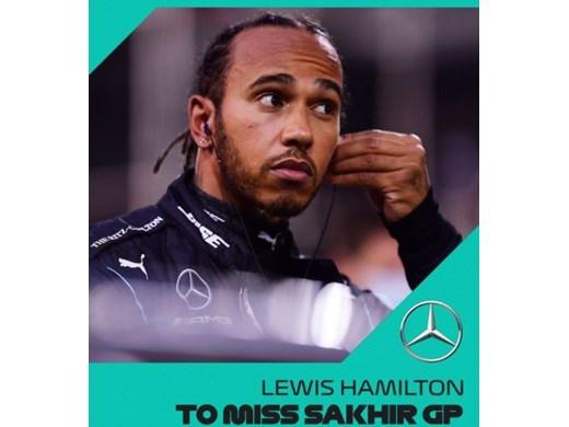 Шампионът във Формула 1 с коронавирус
