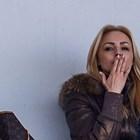 Жената на Любо Пенев пуши на стадиона
