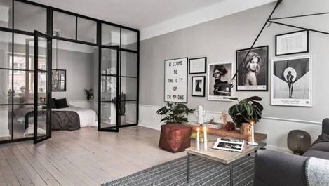 Идеи за стъклени прегради в жилището (галерия)