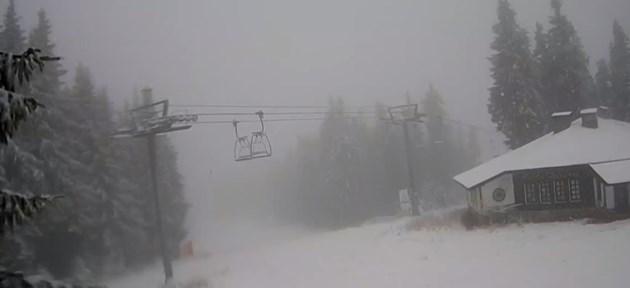 Сняг затрупа Пампорово
