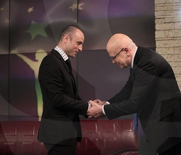 Бербатов е гостувал няколко пъти в Шоуто на Слави
