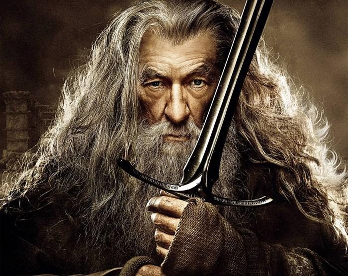 """Магьосникът от света на """"Властелинът на пръстените"""" - Гандалф"""