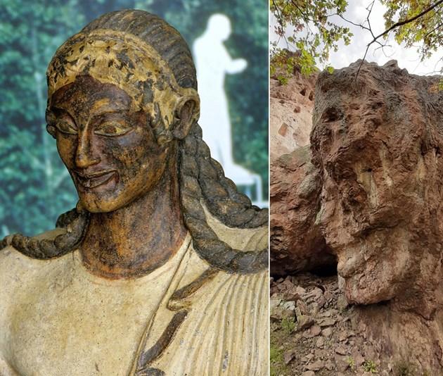 Усмихнатият великан и етруският бог Аполон