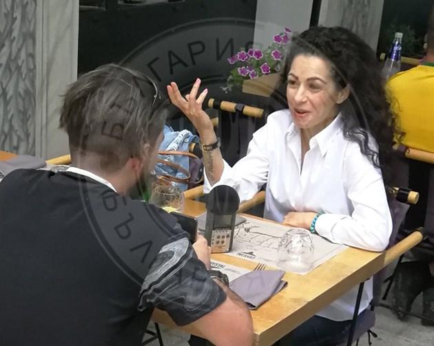 Елена Петрова в приятна компания