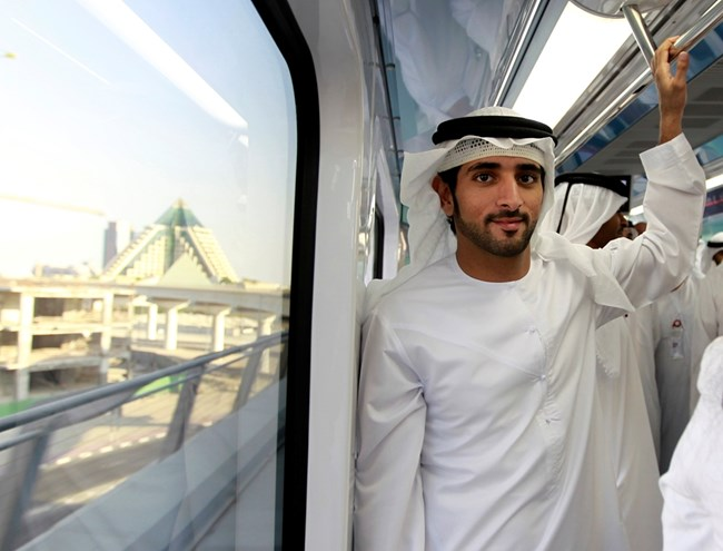 Хамдан бин Мохамед ал Мактум е най-желаният ерген.