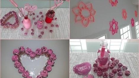 Направете си вкъщи украса за Свети Валентин. Ето как (видео)