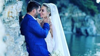 Нови снимки от гръцката сватба на Антония Петрова и Ивайло Батинков