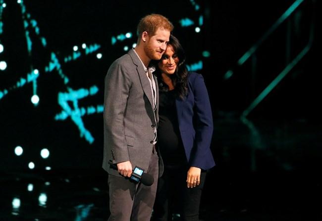Принц Хари и съпругата му Меган в Лондон Снимки: Ройтерс