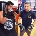 Фолкпевец предизвика Фики на боксов мач