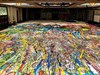 Художник се бори за рекорд на Гинес с най-голямата картина в света (Снимки, видео)