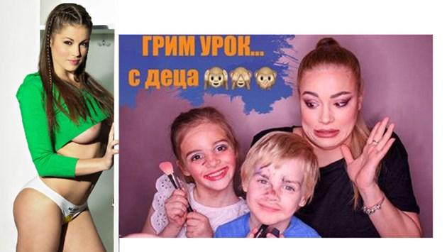 Джаферович гримира децата