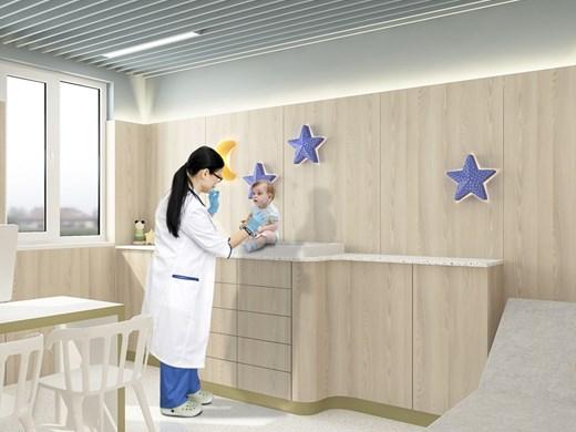 Ремонтират отвътре психодиспансера, Първа поликлиника и белодробната болница