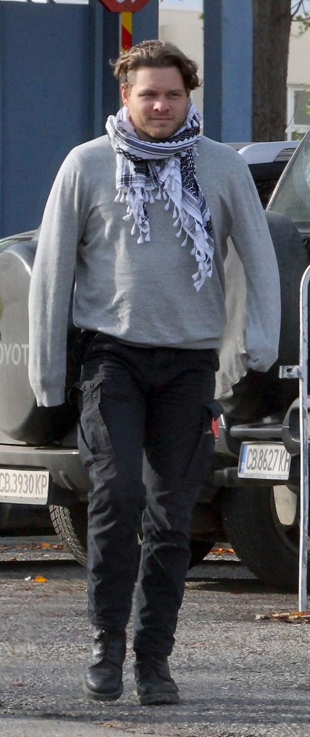 Джок Полфрийман лежа зад решетките за убийство
