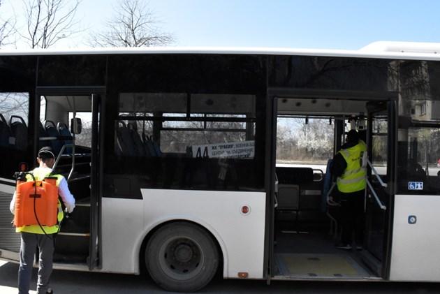 Автобусни линии в София спират на здрачаване