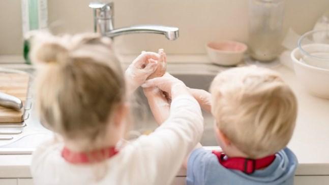 До 3-годишна възраст се възпитават първите хигиенни навици у детето